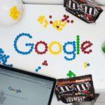 お菓子で書いたGoogle